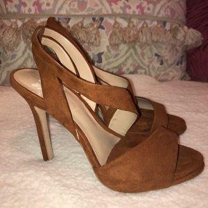 Used Brown high heels